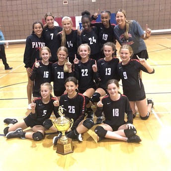 2019 7th Grade Girls Volleyball Champs