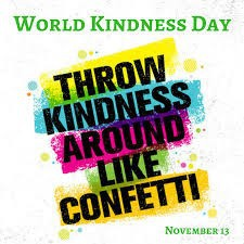 World Kindness Day is Next Wednesday