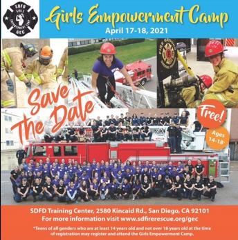 Empowerment Camp Registration March 1