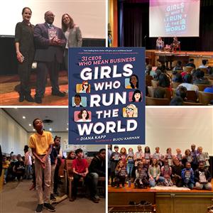 """Girls Who Run the World"" Author Diana Kapp Visits Elkins Park"