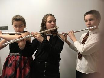 Trio of Flutes