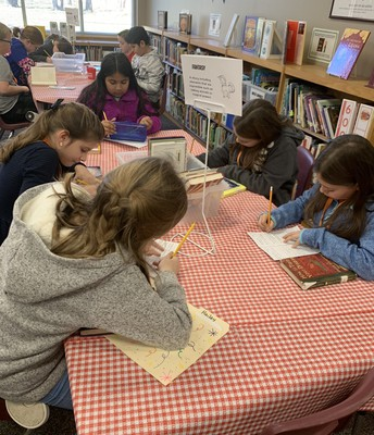 Book Tasting in the KES Library