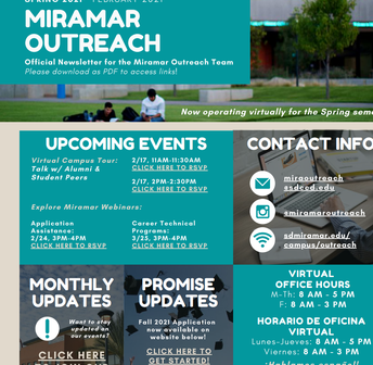 Miramar Outreach Newsletter