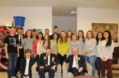 TOHICKON WELCOMES VETERANS FOR HOLOCAUST ASSEMBLY