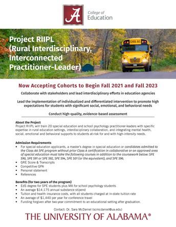 Project RIIPL: Rural Interdisciplinary, Interconnected Practitioner-Leader