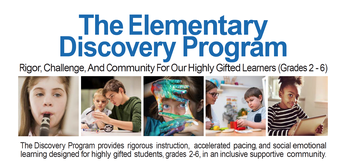 Elementary Discovery Program - Information