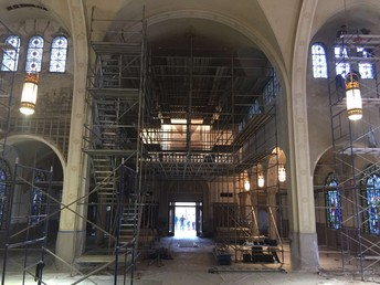 CATHEDRAL RENOVATION UPDATE:
