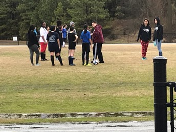 Girl's Soccer Tryouts