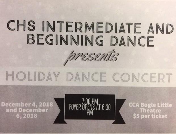Dance Concert Flyer