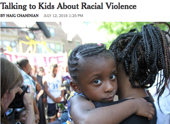 Talking to Children about Racial Violence