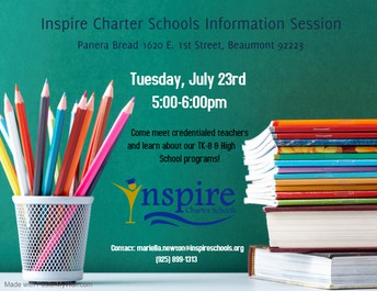 Inspire Info Session in BEAUMONT!
