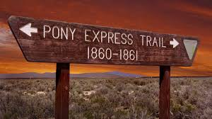 End of the Pony Express