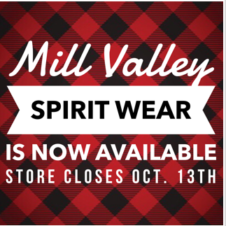 Mill Valley Spirit Wear!!