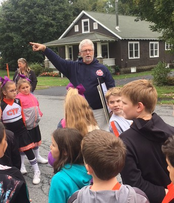4th Grade History Walking Tour