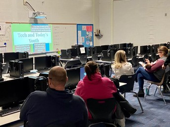 Technology and our Children - an informative session by David Mitchel from Holmes Middle School