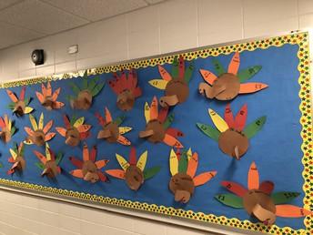 Turkeys in First grade