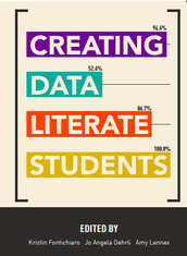 OUR BOOK, CREATING DATA LITERATE STUDENTS, NOW AVAILABLE AS FREE PDFs!