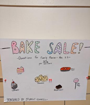 Bake Sale Friday 11/22