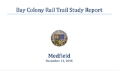 Medfield Completed A Study In December 2016