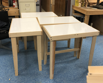 Need a workspace at home for remote learning? Request a desk!