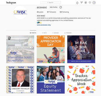 Stay Connected with WASC on Social Media