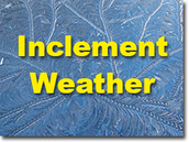 SDW Inclement Weather Information