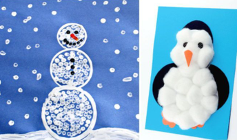 Winter Crafts! (A Message from Megan Larson)