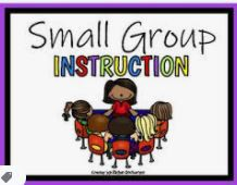 Monday Small Group Instruction and Assessments