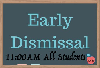 Early Dismissal @11:00am