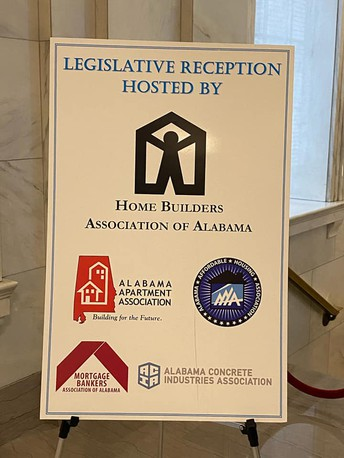 February 12th, 2020- Alabama Apartment Association- Legislative Reception