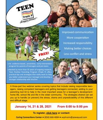 Teen Positive Parenting Program