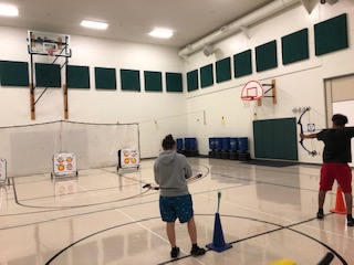Archery Students in Action