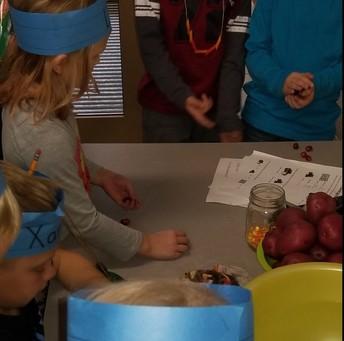 Kindergarten Thanksgiving Science Fun