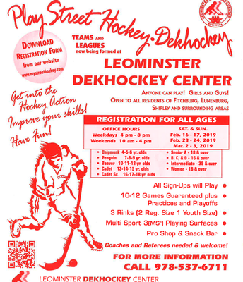 Leominster Dek Hockey (English)
