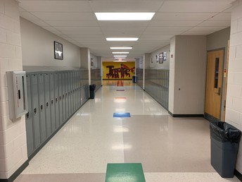 Our Custodians Worked Hard This Summer