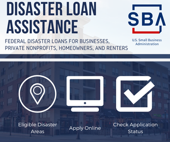 Disaster loan assistance available