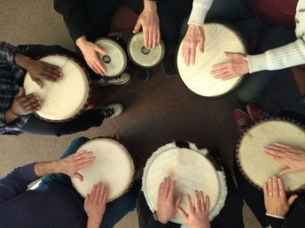 NDHS Session- Drumming Circle!