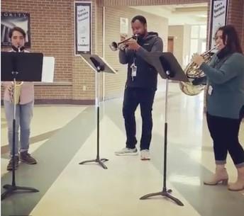Teachers making music!