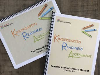 KRA Test Item Images Book and Teacher Administration Manual Picture