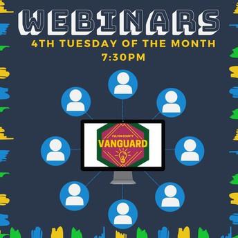 Webinar- December 18 at 7:30