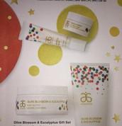 Vanilla Bean Lip Therapy & Olive Blossom Eucalyptus Set