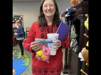 Ms. Thompson, Prize Winner!