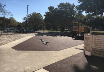 Playground PIP rubber surfacing