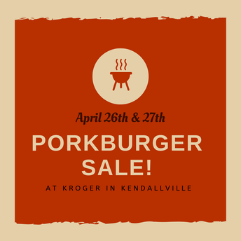 Our Porkburger Sale is coming soon