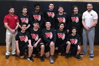 WHS Hosts First Ever Junior High Wrestling Meet