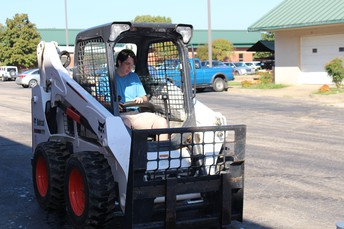 Construction Technology Students Compete in Bobcat Derby