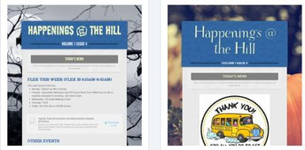 Happenings @ the Hill Newsletter