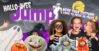 30 OCT Hallo-weeJump at iJump Tyler 10:00am - 12:00pm