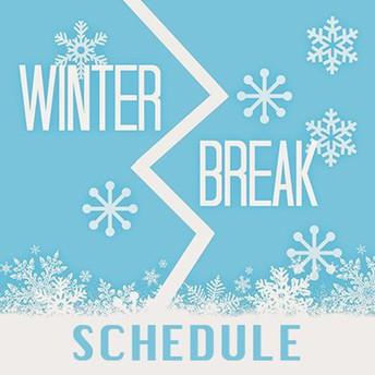 Winter Break Half-Day (Dec. 21st)