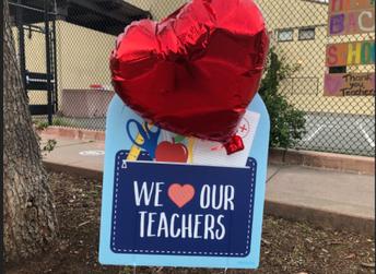PUSD families appreciate their teachers!